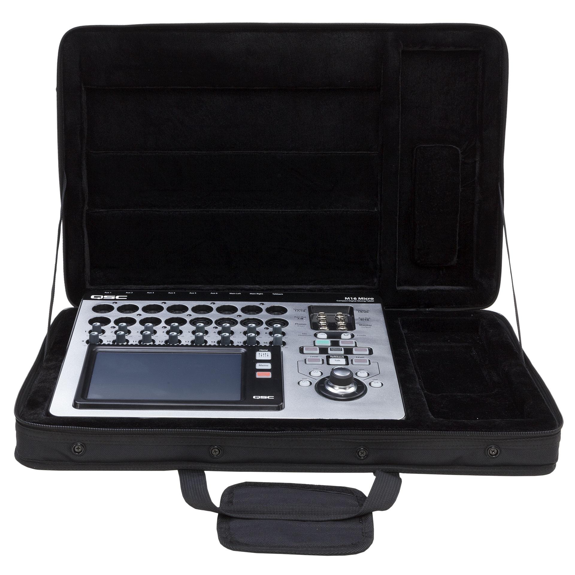 Qsc touchmix 8 console de mixage num rique - Console de mixage numerique ...