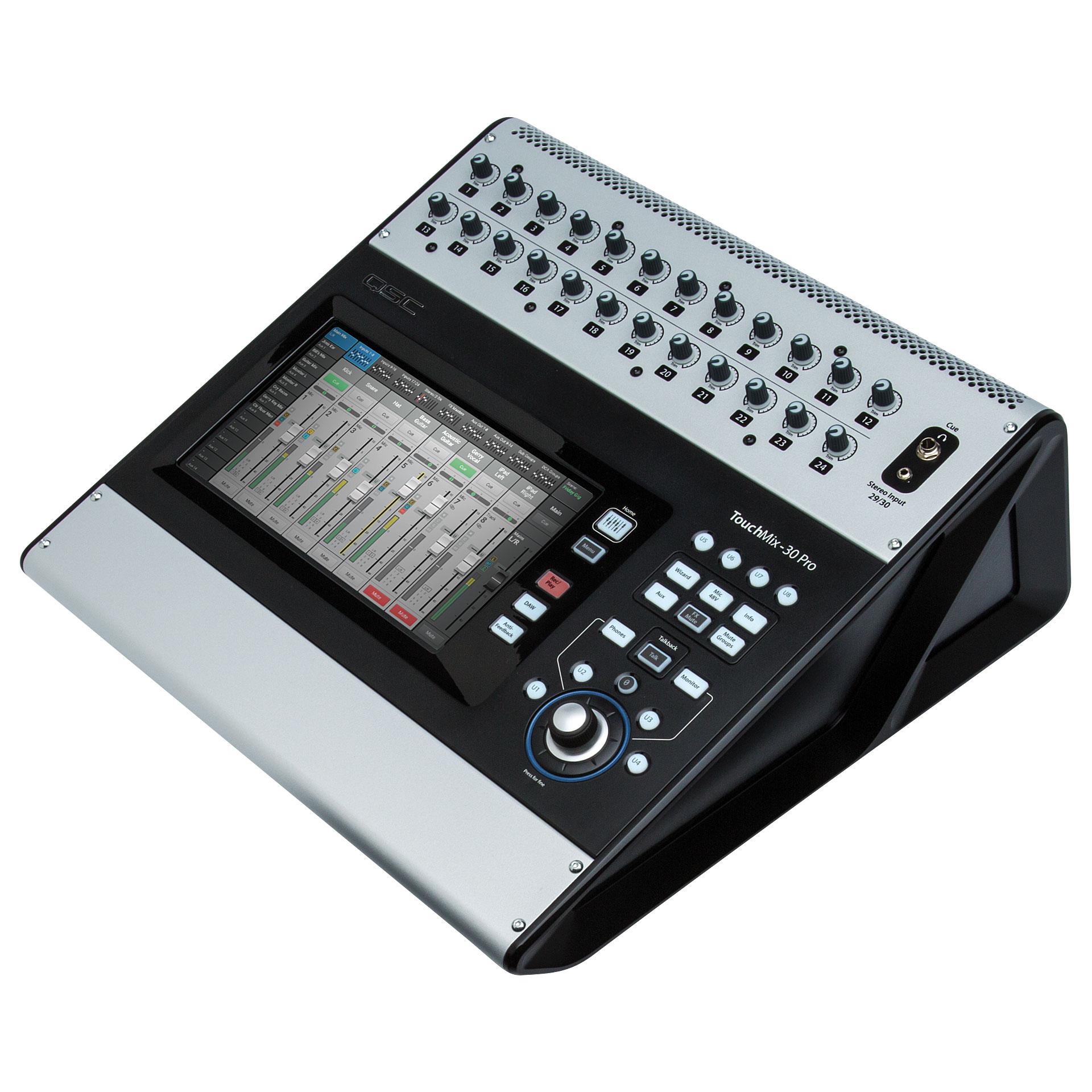 table de mixage numerique qsc