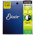 Cuerdas guitarra eléctr. Elixir Optiweb Super Light 009-042