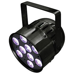 Eurolite LED PAR-56 HCL Short black « LED-verlichting
