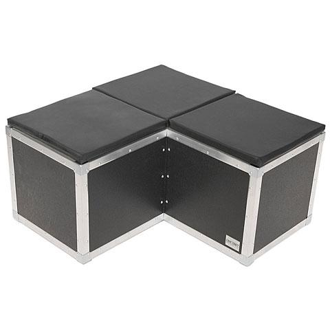 Case-Craft Sitzwürfel  Casepix  3er Ecke