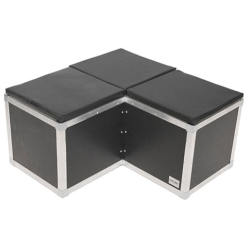 LightTeknik Sitzwürfel  Casepix  3er Ecke