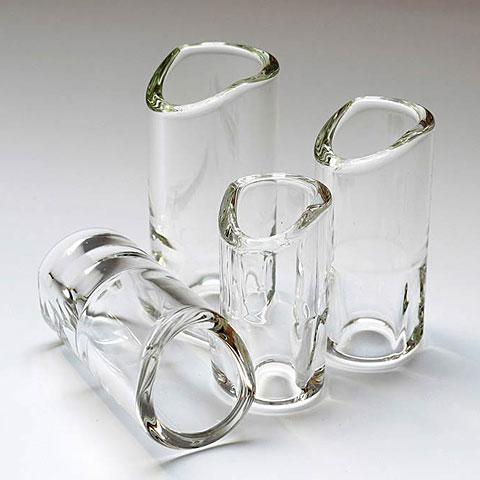Slide/Bottleneck The Rock Slide Moulded Glass GRS-SC