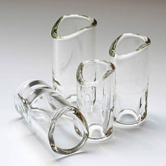 The Rock Slide Moulded Glass LG