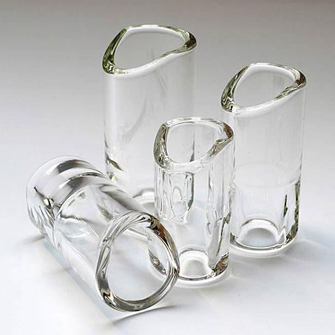 Slide/Bottleneck The Rock Slide Moulded Glass XL