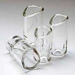 The Rock Slide Moulded Glass GRS-XLC « Bottleneck