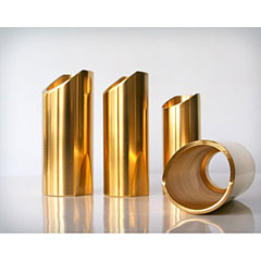 The Rock Slide Polished Brass LG « Bottleneck