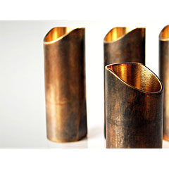 The Rock Slide Aged Brass XL « Slide/Bottleneck