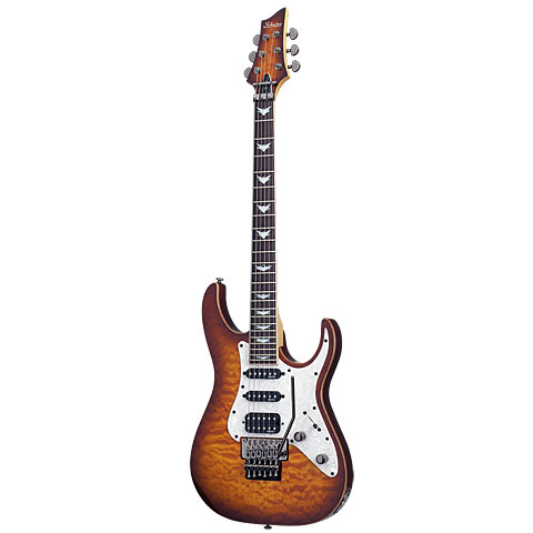 Schecter Banshee-6 FR Extreme VSB « E-Gitarre
