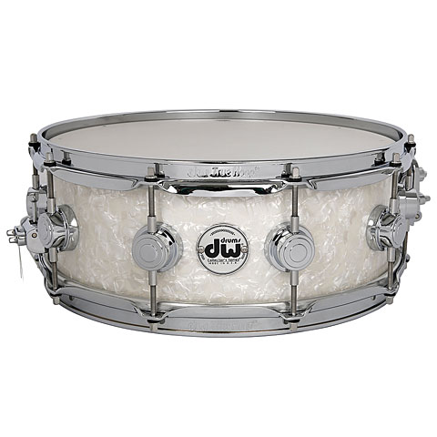 DW Collector's Finish Ply 14 x 6  Ultra White Marine