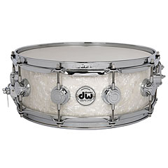 "DW Collector's Finish Ply 14""x 6"" Ultra White Marine « Snare"