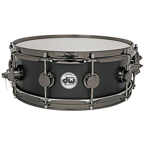 DW Collector´s Lacquer Custom 14'' x  5'' Matte Black