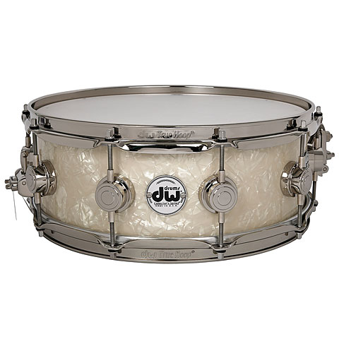 DW Collector's Finish Ply 14  x  6  Vintage Marine Sn
