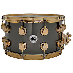"DW Collector's Brass 14""x 8"" Black Nickel Over Brass « Caisse claire"