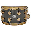 "DW Collector's Brass 14""x 8"" Black Nickel Over Brass « Snare"
