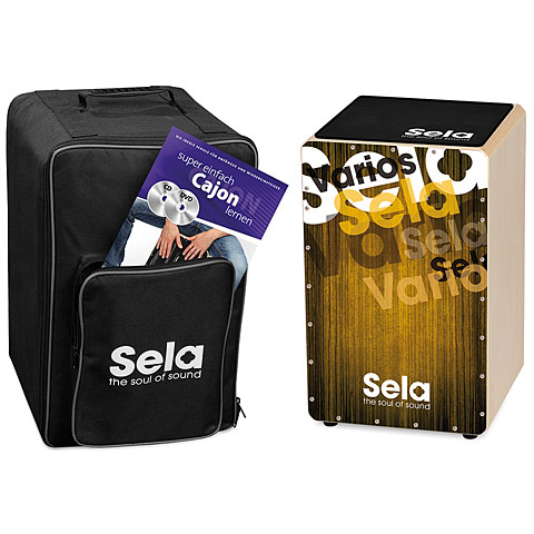 Sela Varios Gold Cajon Bundle