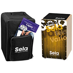 Sela Varios Gold Cajon Bundle « Cajón flamenco
