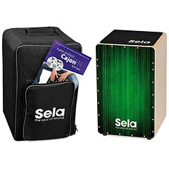 Sela Varios Green Cajon Bundle « Cajón flamenco