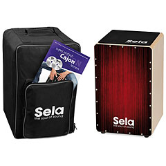 Sela Varios Red Cajon Bundle « Cajón flamenco
