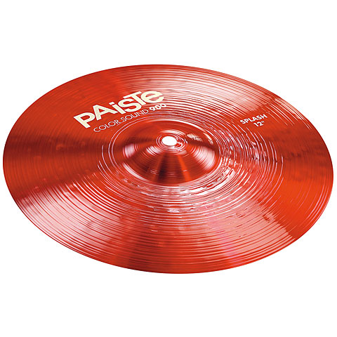 Paiste Color Sound 900 Red 12  Splash