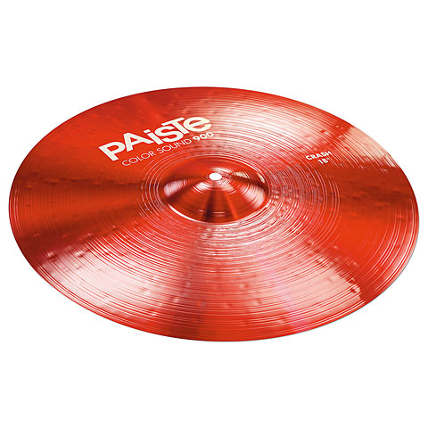 "Paiste Color Sound 900 Red 18"" Crash"