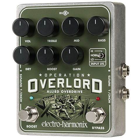 Effektgerät E-Gitarre Electro Harmonix Operation Overlord