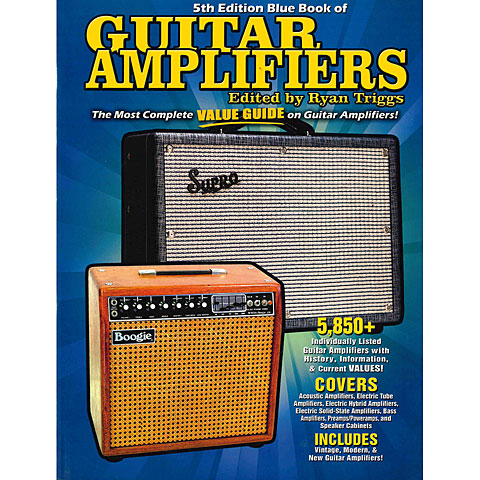 Backbeat Blue Book of Guitar Amplifiers - 5th Edition