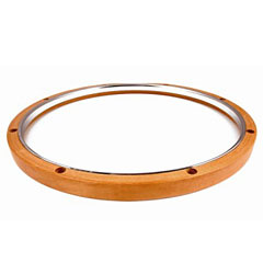 "Dunnett 14"" Hybrid Snaredrum Hoop Batter Side « Drum Keys"
