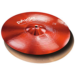 "Paiste Color Sound 900 Red 14"" HiHat « Cymbale Hi-Hat"