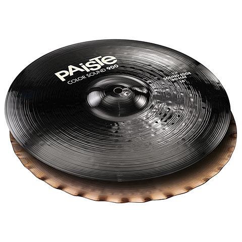 "Paiste Color Sound 900 Black 14"" Sound Edge HiHat"