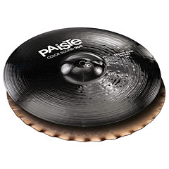"Paiste Color Sound 900 Black 14"" Sound Edge HiHat « Cymbale Hi-Hat"