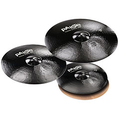 Paiste Color Sound 900 Black Universal Set 14HH/16C/20R « Pack de cymbales
