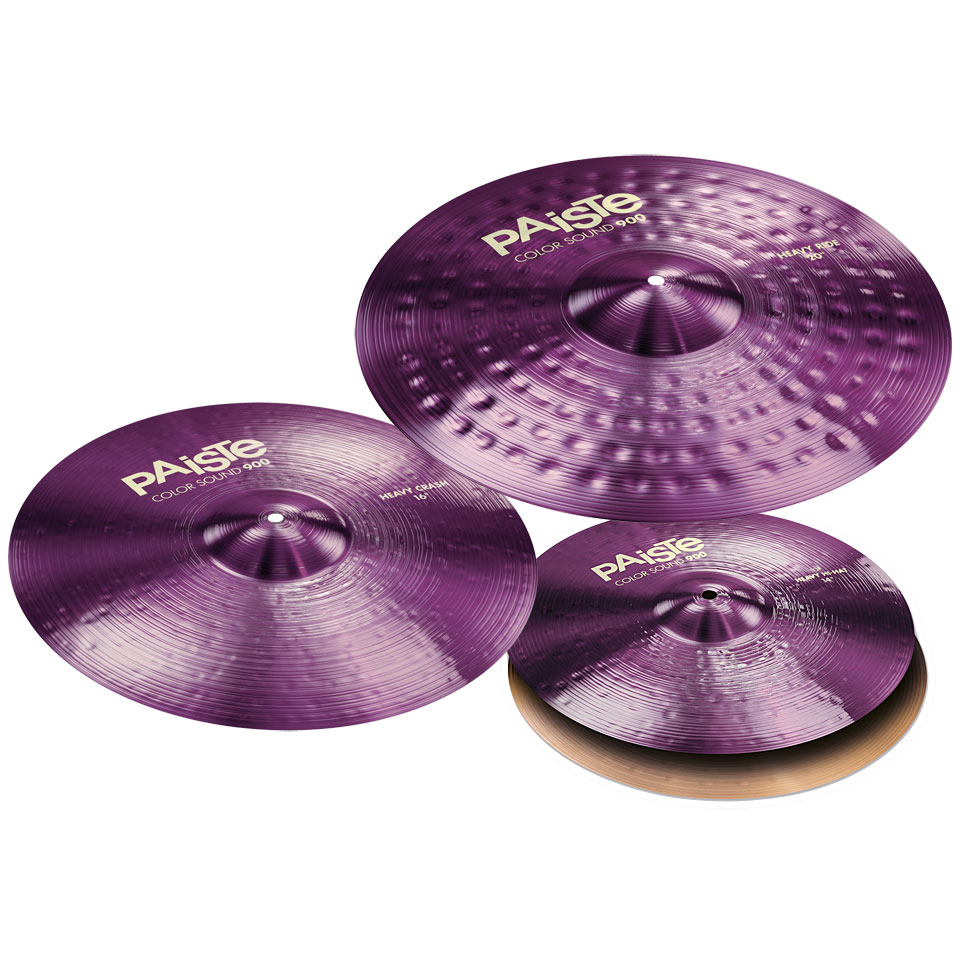 Paiste Color Sound 900 Purple Rock Set 14HH/16C/20R