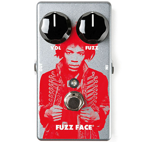 Dunlop Jimi Hendrix Fuzz Face Distortion Limited Edition