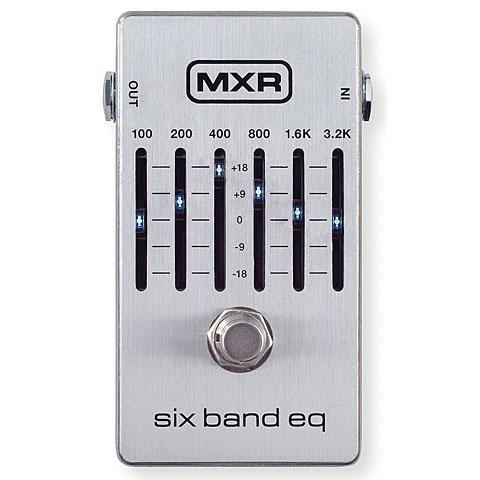 MXR M109S 6 Band Equalizer Silver