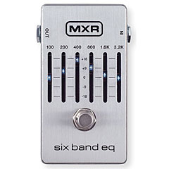 MXR M109S 6 Band Equalizer Silver « Guitar Effect