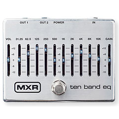 MXR M108S 10 Band Equalizer Silver « Guitar Effect
