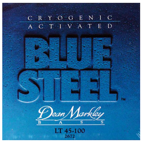 Dean Markley 2672 LT 45-100 Blue Steel Bass