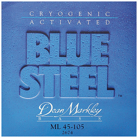 Dean Markley 2674 ML 45-105 Blue Steel Bass