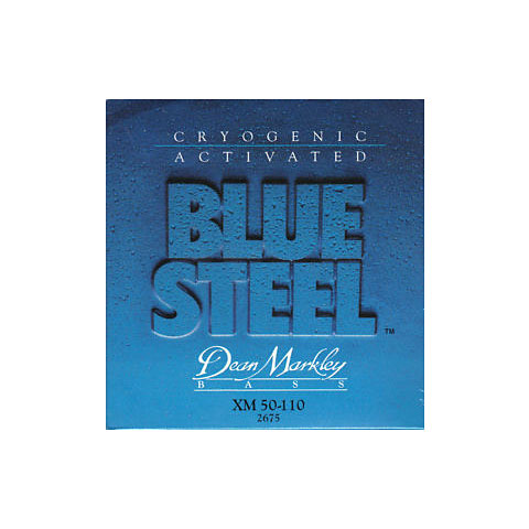 Dean Markley 2675 XM 50-110 Blue Steel Bass