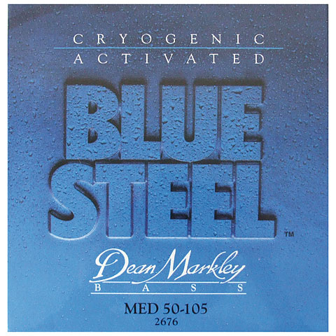 Dean Markley 2676 MED 50-105 Blue Steel Bass