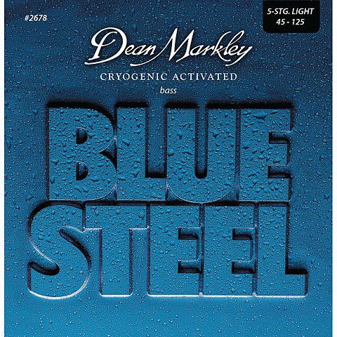 Dean Markley 2678 5LT 45-125 Blue Steel Bass