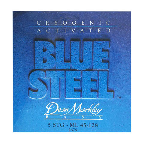 Dean Markley 2679 5ML 45-128 Blue Steel Bass