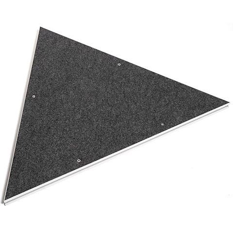Intellistage Podestplatte Dreieck Teppich