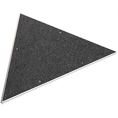 Intellistage Equilateral Triangle Platform Carpet « Element de scène