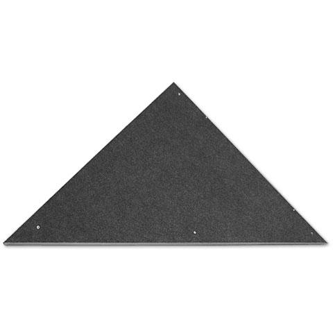 Intellistage Podestplatte Dreieck Teppich 90°