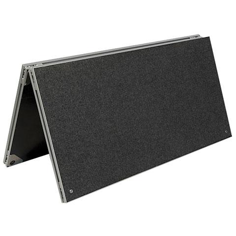 Intellistage 1x1 m Tuffcoat Podestplatte gefaltet