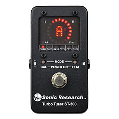 Sonic Research ST-300 Stomp Box Strobe Tuner « Tuner