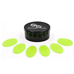 SkyGel 6 Crystal Green Damper Pads « Drumhead accessories