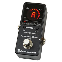 Sonic Research ST-300 Mini Stomp Box Strobe Tuner « Stimmgerät